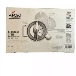 All Clad - Stainless Steel Professional Food Mill